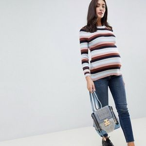ASOS Striped Maternity Sweater